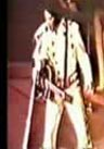 Elvis Presley wearing the Porthole Suit in Vegas on September 2nd 1972 Midnight Show