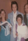 Elvis Presley wearing the Lightblue-Grass Suit in Vegas in August 1973