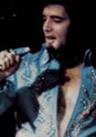 Elvis Presley wearing the Lightblue-Grass Suit in Vegas